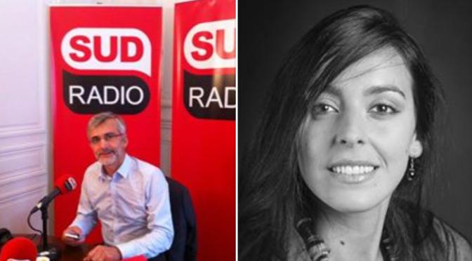 Valentina Salonna invitée à débattre sur Sud Radio